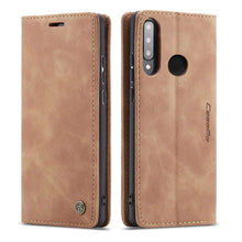 Load image into Gallery viewer, CASEME Huawei P30 Lite Retro Wallet Case - Brown