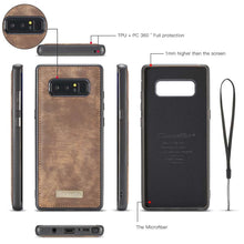 Load image into Gallery viewer, CASEME Samsung Galaxy Note 8 Vintage Portemonnee Hoesje - Brown