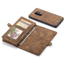 Load image into Gallery viewer, CASEME Samsung Galaxy S9 Plus Vintage Portemonnee Hoesje - Brown