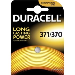 Duracell D371/370 Silver oxide button cell 1.55V