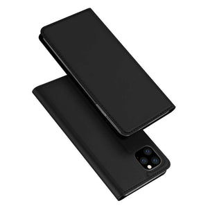 DUX DUCIS TPU Wallet cover voor Apple iPhone 11 Pro Max cover - zwart