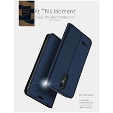 Load image into Gallery viewer, DUX DUCIS LG K8 (2018) Wallet Case Slimline - Blue