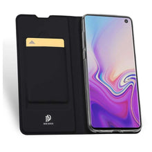 Load image into Gallery viewer, DUX DUCIS Samsung Galaxy S10 Wallet Case Slimline - Black
