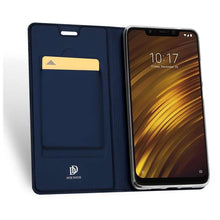 Load image into Gallery viewer, DUX DUCIS Xiaomi Pocophone F1 Wallet Case Slimline - Blue