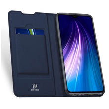 Load image into Gallery viewer, DUX DUCIS Xiaomi Redmi Note 8T Wallet Case Slimline - Blue