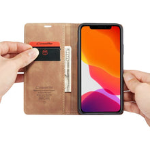 Load image into Gallery viewer, CASEME Wallet Cover voor Apple iPhone 11 Pro Max - Bruin