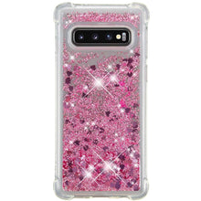 Load image into Gallery viewer, Just in Case Samsung Galaxy S10 Glitter Soft TPU case (Red)