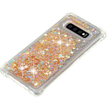Load image into Gallery viewer, Just in Case Samsung Galaxy S10 plus Glitter Soft TPU case (Gold)