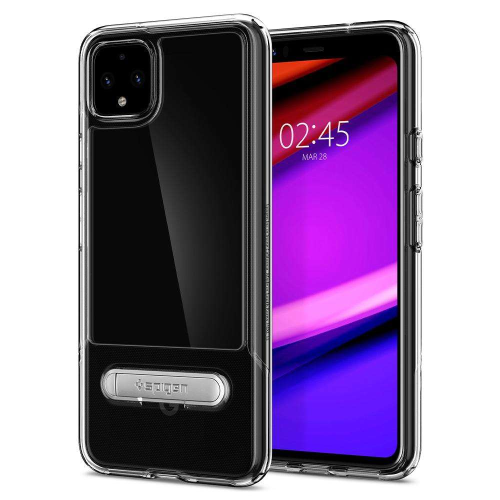Spigen Slim Armor Essential S Google Pixel 4 Case (Crystal Clear) ACS00056