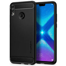 Load image into Gallery viewer, Spigen Rugged Armor Case Honor 8X (Matte Black) L36CS25573