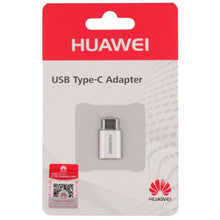 Load image into Gallery viewer, Huawei Adapter (Micro USB to USB-C) (White) - 5V/2A