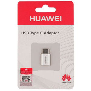 Huawei Adapter (Micro USB to USB-C) (White) - 5V/2A