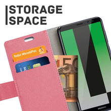 Load image into Gallery viewer, Just in Case Huawei Mate 10 Lite Wallet Case (Pink)