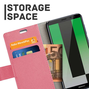 Just in Case Huawei Mate 10 Lite Wallet Case (Pink)