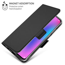 Load image into Gallery viewer, Just in Case Huawei P Smart 2019 Wallet Case Slimline - Black