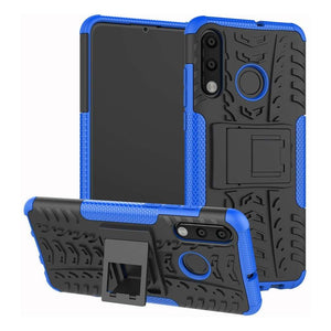 Just in Case Rugged Hybrid Huawei P30 Lite Case (Blue)