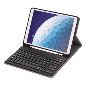 Just in Case Apple iPad Air (2019) 10.5 Premium Bluetooth Keyboard Pen Cover (Black)