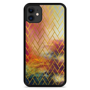 iPhone 11 Hardcase hoesje Abstract Pattern