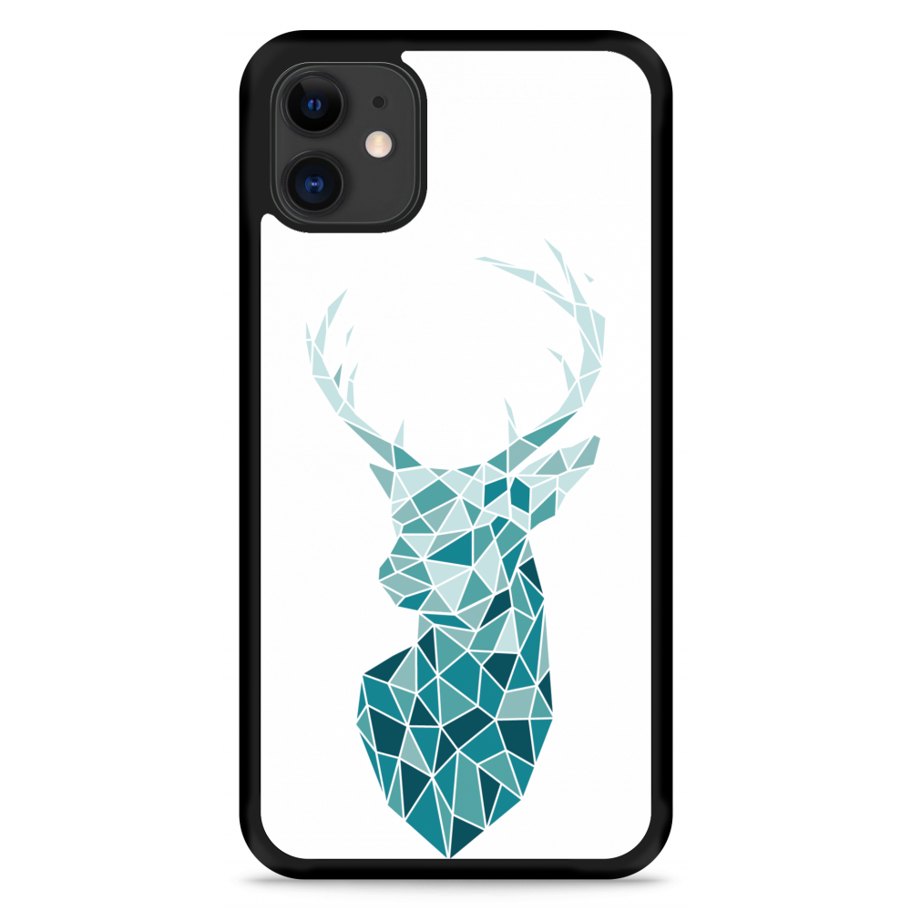iPhone 11 Hardcase hoesje Art Deco Deer