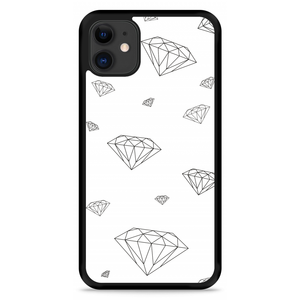 iPhone 11 Hardcase hoesje Diamonds