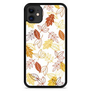 iPhone 11 Hardcase hoesje Falling Leaves