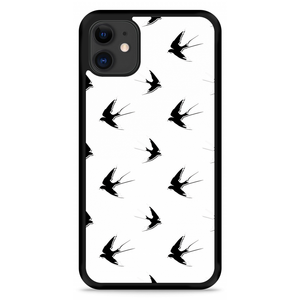 iPhone 11 Hardcase hoesje Swallows