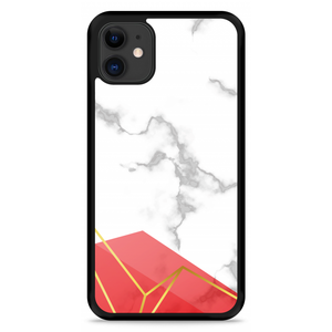iPhone 11 Hardcase hoesje Trendy Marmer