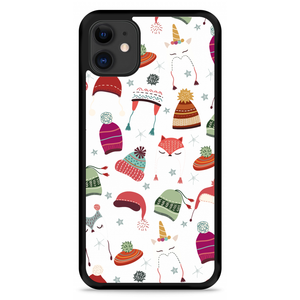 iPhone 11 Hardcase hoesje Winter Hats