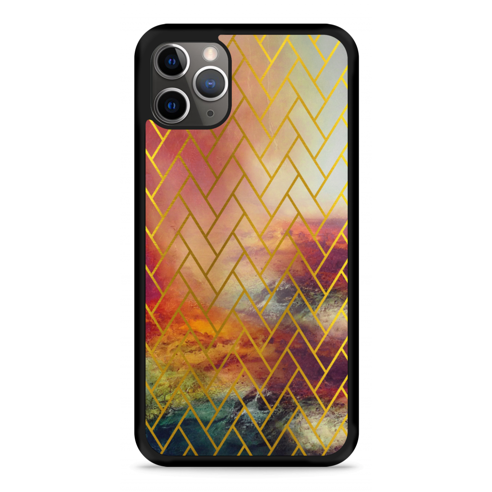 iPhone 11 Pro Hardcase hoesje Abstract Pattern