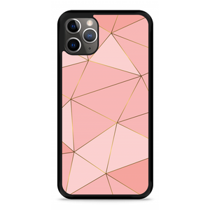 iPhone 11 Pro Hardcase hoesje Pink Art