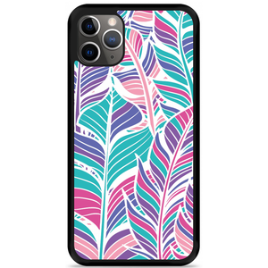 iPhone 11 Pro Max Hardcase hoesje Design Feathers