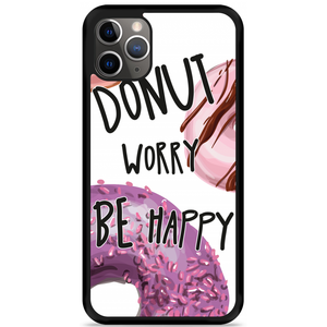 iPhone 11 Pro Max Hardcase hoesje Donut Worry