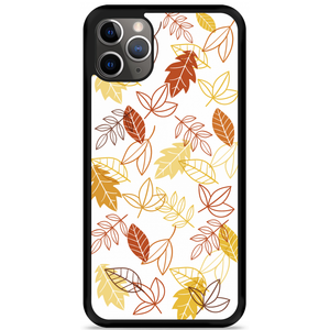 iPhone 11 Pro Max Hardcase hoesje Falling Leaves