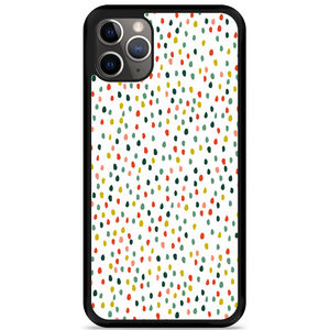iPhone 11 Pro Max Hardcase hoesje Happy Dots