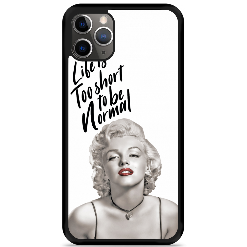 iPhone 11 Pro Max Hardcase hoesje Life is too Short