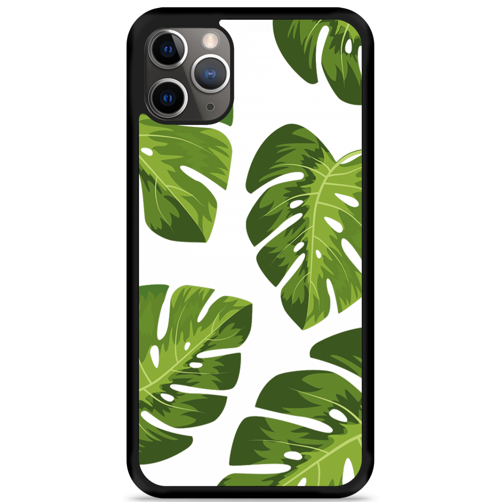 iPhone 11 Pro Max Hardcase hoesje Palm Leaves
