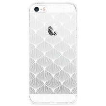 Load image into Gallery viewer, iPhone 5/5S/SE Hoesje White Abstract Pattern