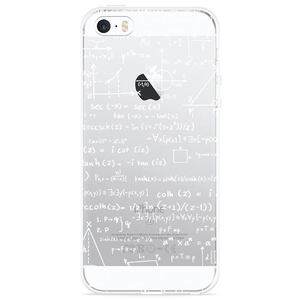 iPhone 5/5S/SE Hoesje Wiskunde wit