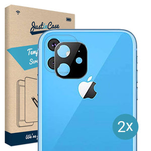 Just in Case Film Protector Apple iPhone 11 Camera Lens - 2 Pcs