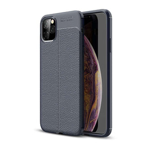 Just in Case Soft TPU cover voor Apple iPhone 11 Pro Max - Blauw