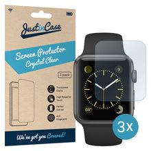 Load image into Gallery viewer, Just in Case Screen Protector Apple Watch 42mm (3 pack)