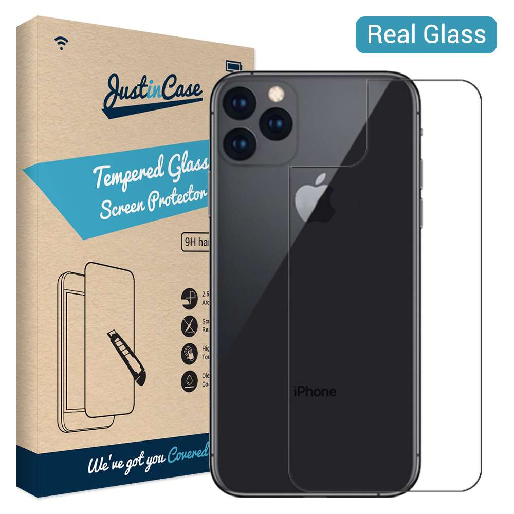 Just in Case Back Cover Tempered Glass Apple iPhone 11 Pro