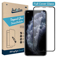 Load image into Gallery viewer, Just in Case Full Cover Tempered Glass Apple iPhone 11 Pro (Black)