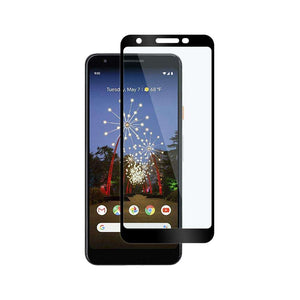 Just in Case Full Cover Tempered Glass Google Pixel 3a XL (Black)