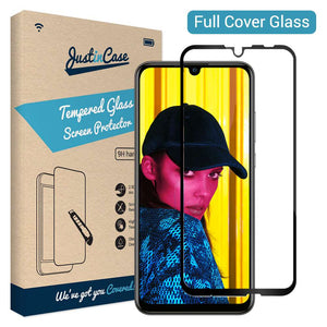 Just in Case Full Cover Tempered Glass Honor 10 Lite (Black)