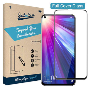 Just in Case Full Cover Tempered Glass Honor View 20 (Black)