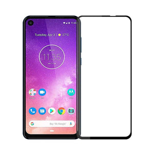 Just in Case Full Cover Tempered Glass Motorola One Vision (Black)