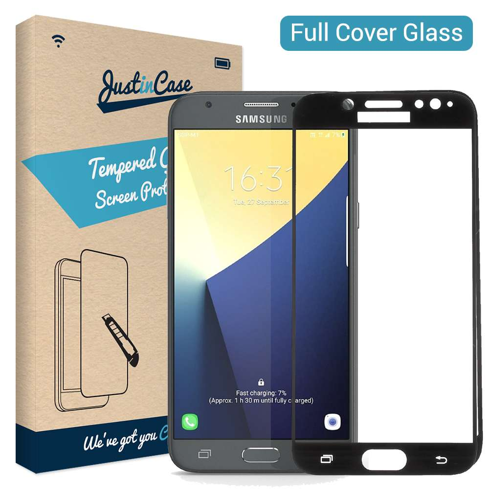Just in Case Full Cover Tempered Glass Samsung Galaxy J5 (2017) (Black)