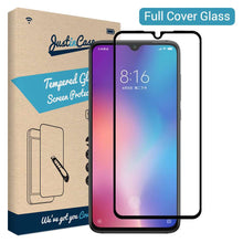 Load image into Gallery viewer, Just in Case Full Cover Tempered Glass Xiaomi Mi 9 SE (Black)