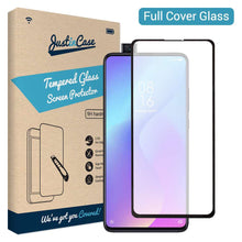 Load image into Gallery viewer, Just in Case Full Cover Tempered Glass Xiaomi Mi 9T (Black)